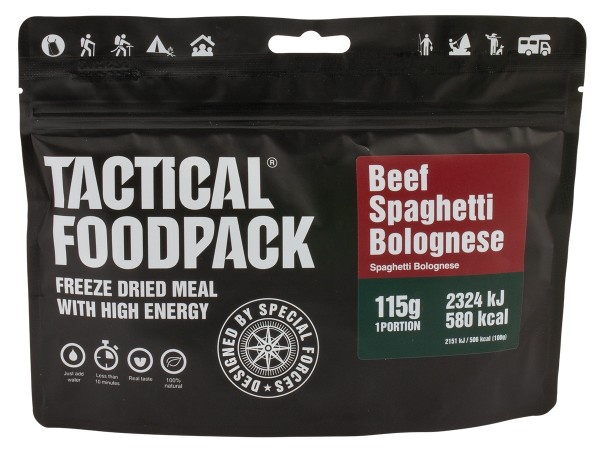 Tactical Foodpack - Spaghetti Bolognese