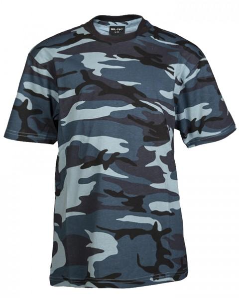 Mil-Tec T-Shirt Kids Skyblue