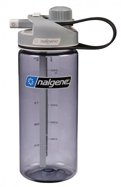 Nalgene Trinkflasche Multi Drink Grau 0,6 L