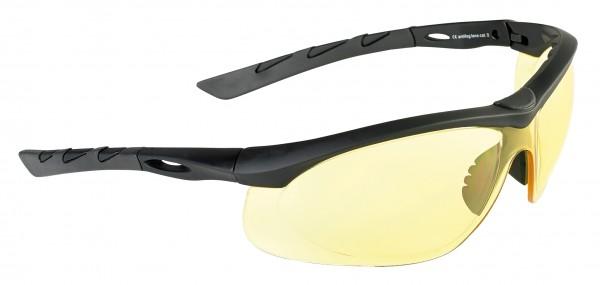 SwissEye Tactical Brille Lancer Black/Gelb