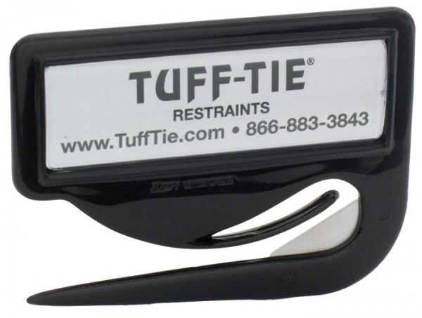 Tuff-Tie Tuff-Cutter Schneidewerkzeug mit Fach für Namensschild