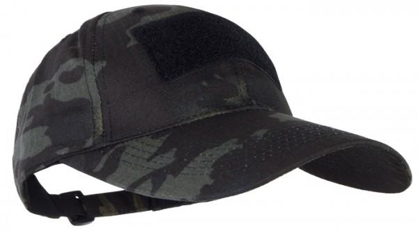 Baseball Cap Mil-Tec Tactical Multitarn Black