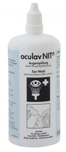 Oculav NIT Augen-Sofortspülung 250 ml