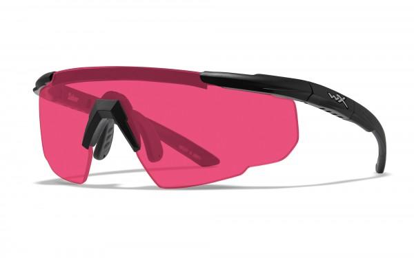 Wiley X Saber Advanced Schutzbrille Vermillion
