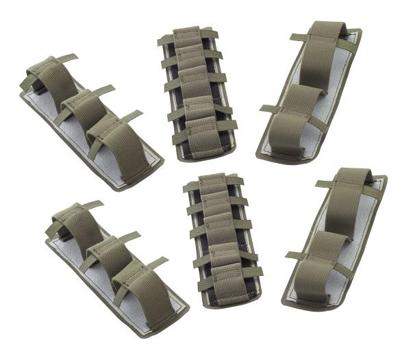 SnigelDesign Elastic Insert Stripes Schlaufenbänder 6er Set