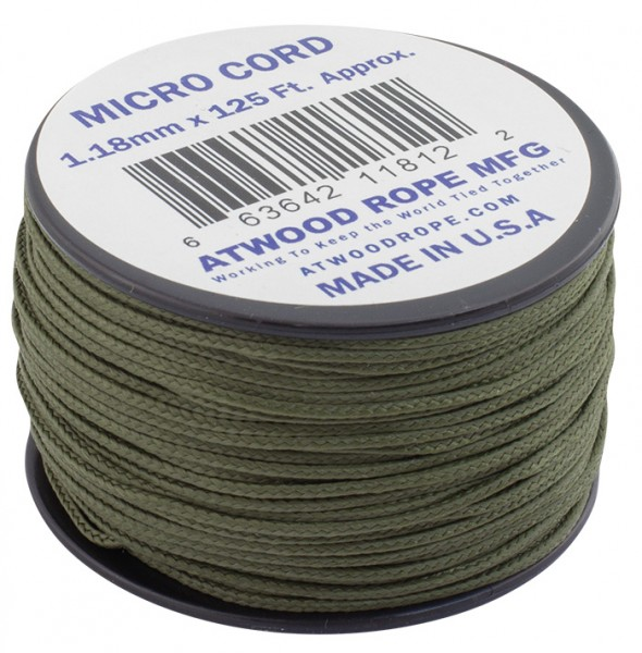 Atwood Rope Micro Cord 1,18 mm - 38 m