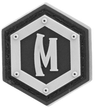 Maxpedition Rubber Patch HEX LOGO Swat