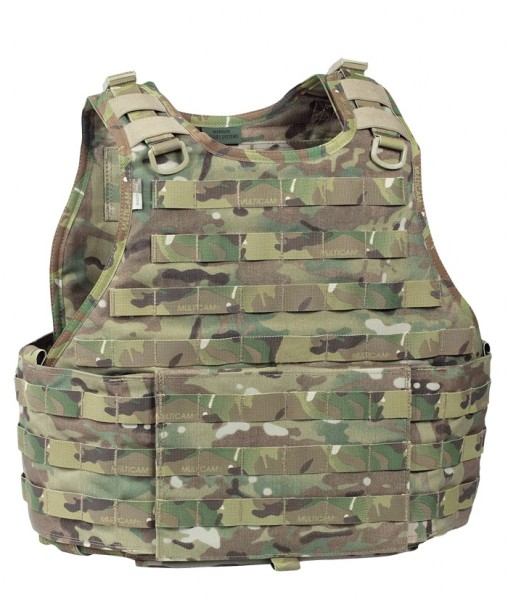 Warrior RICAS Compact Base Plate Carrier Multicam