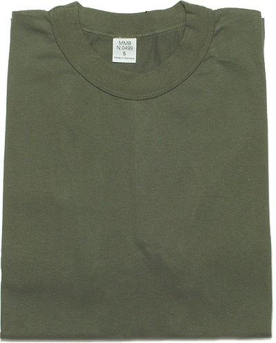BW Unterherhemd 1/2 Arm gebraucht-Oliv