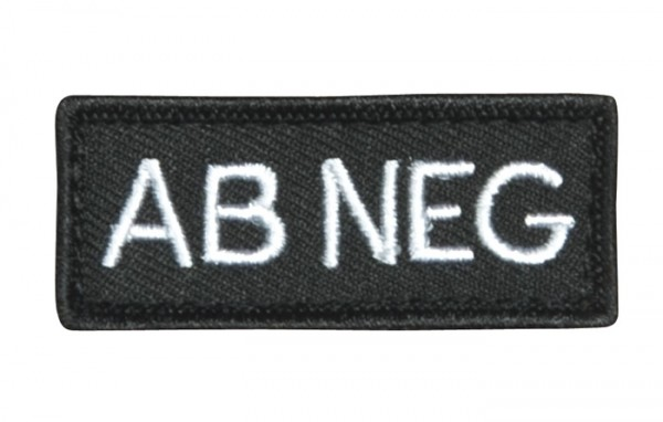 KHS Blutgruppen Patches AB NEG