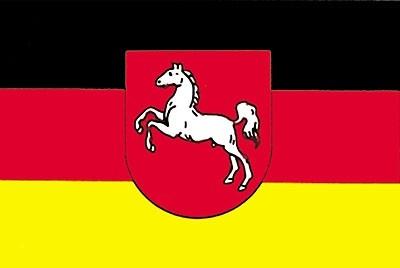 Flagge BL Niedersachsen