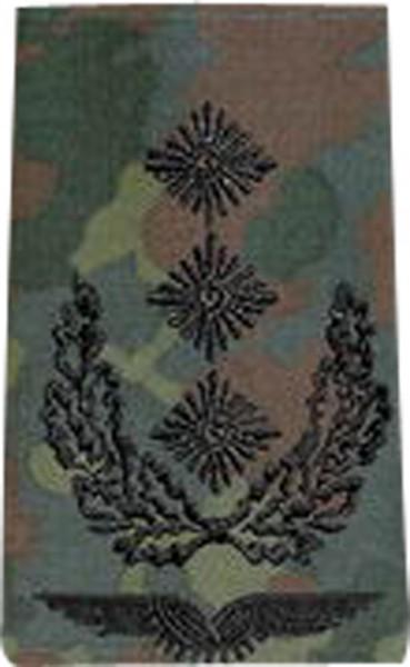 BW Rangschl. Oberst Luftwaffe Tarn/Schwarz