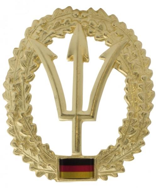 BW Barett Abzeichen KSM Marine Metall