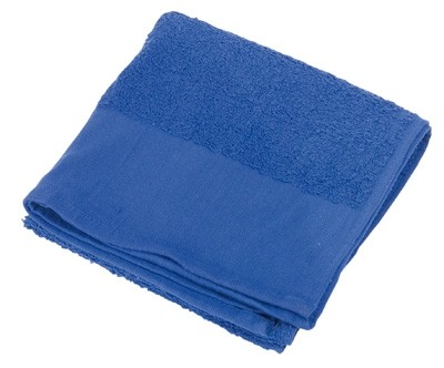 BW Handtuch Frottee Blau Neu