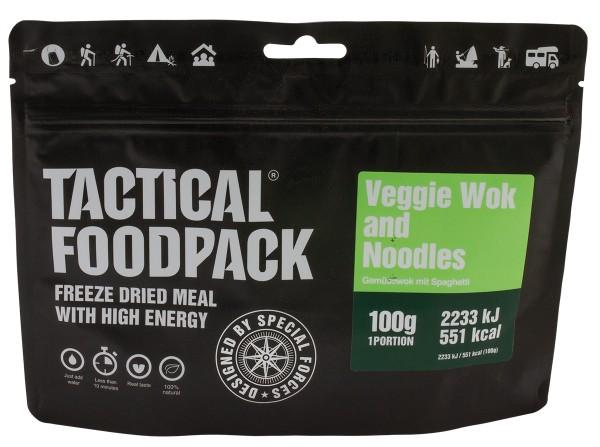 Tactical Foodpack - Gemüsewok mit Spaghetti