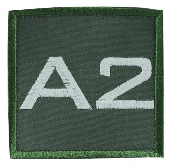 Truppkennzeichnung Oliv mit Klett A2