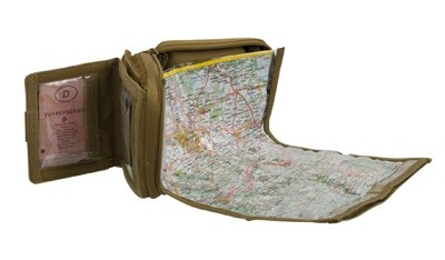 Condor Map Pouch Coyote