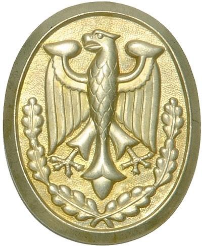 BW Schützenschnurplakette Gold