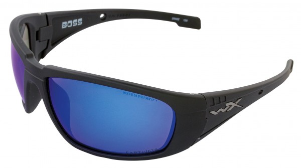 Wiley X Boss Sonnenbrille Captivate Polarized Blue Mirror