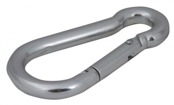Karabinerhaken 8 cm Aluminium - 2er Pack