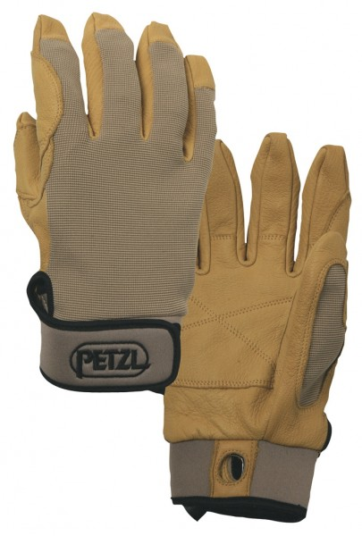 Abseil - Handschuhe Petzl Cordex Beige