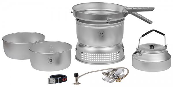 Trangia Sturmkocher Set 25-2 UL/GB Gasbrenner