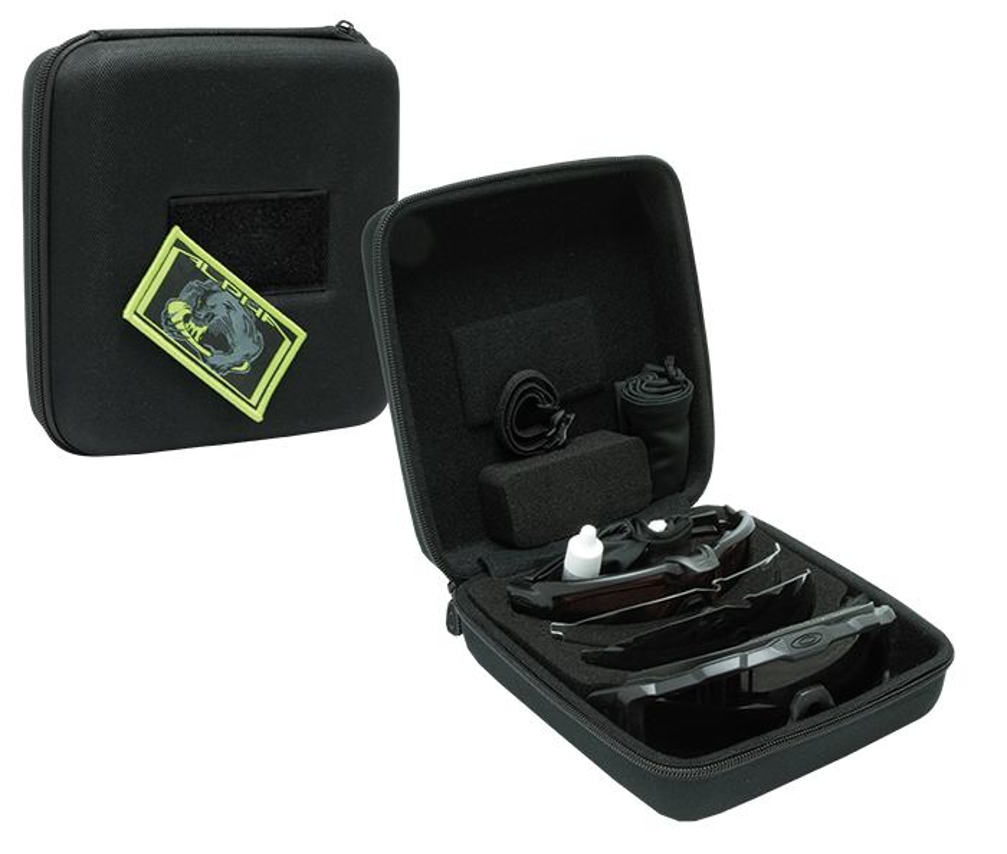 Oakley SI Ballistic M-Frame Alpha Operator Kit Square Case Black ...