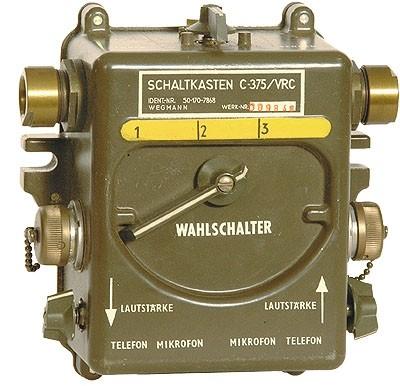 BW US Schaltkasten C-375/VRC Neuwertig