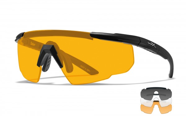 Wiley X Saber Advanced Schutzbrille Smoke/Clear/Rust