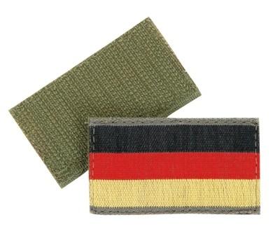 BW Hoheitsabzeichen S/R/G mit Klettband - Klein