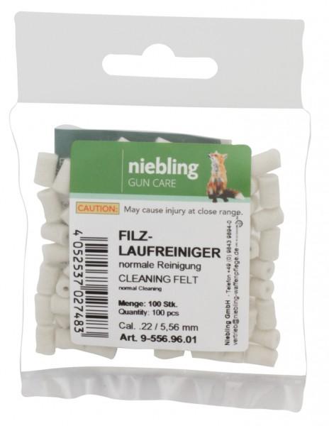 Niebling Filz Laufreiniger Normal (5,56mm) 100 Stück