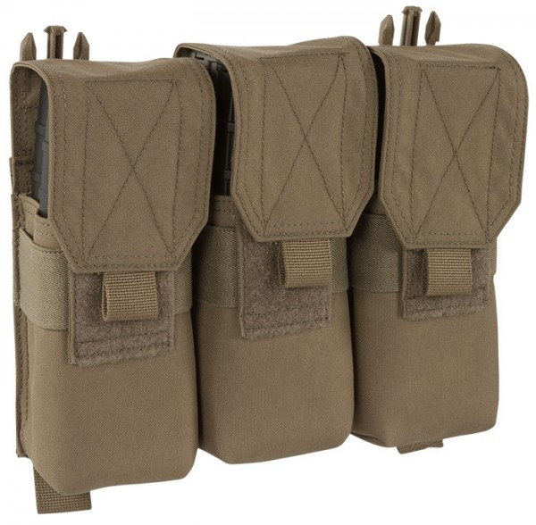 Warrior Recon Plate Carrier Triple Covered M4 Mag Pouch