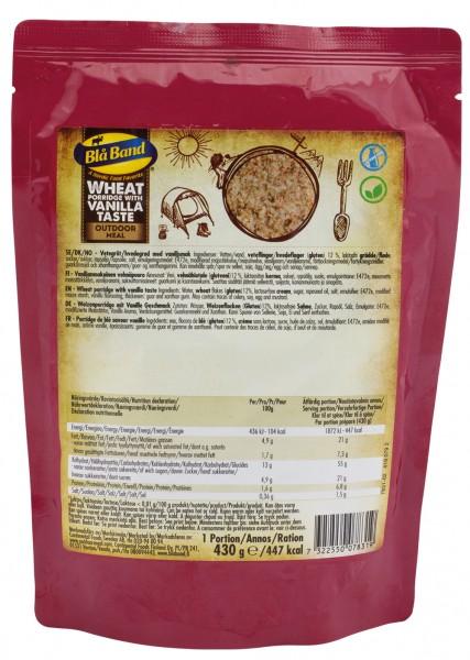 Bla Band Outdoor Meal Wet Pouch - Weizenbrei mit Vanillegeschmack