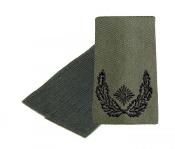 BW Rangschl. Major Heer Oliv/Schwarz Klett