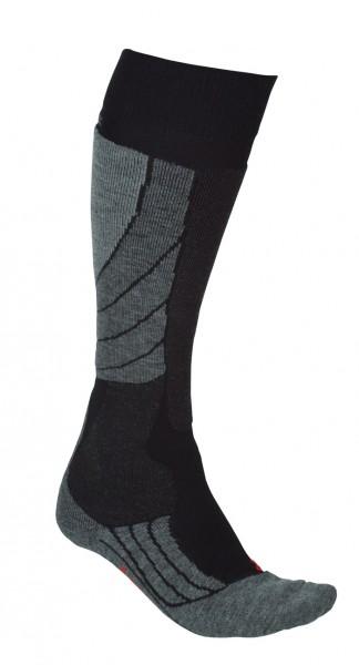 Falke SK2 Socke Wool Schwarz/Grau