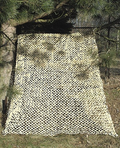 Tarnnetz Camo System 2x3 Meter Desert