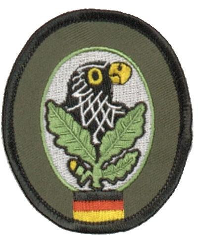 BW Scharfschützenabz. Textil Bunt