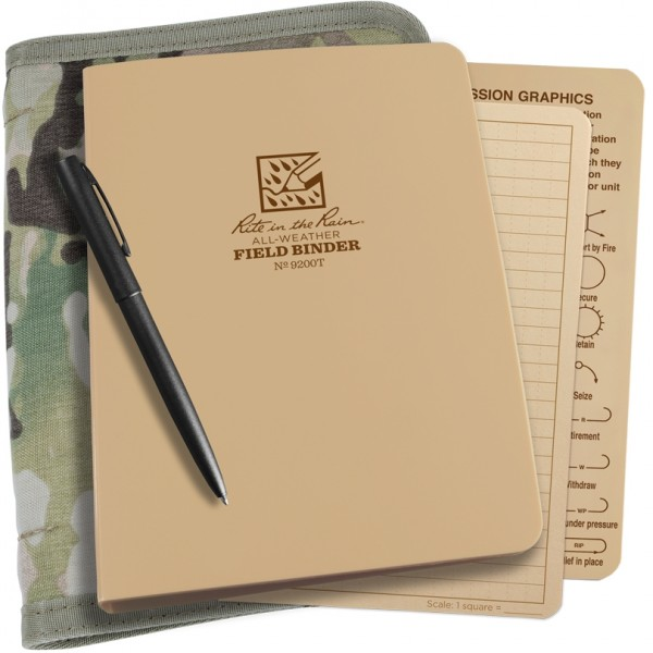 Rite in the Rain Tactical Ring Binder Kit
