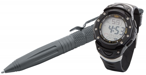 UZI Tactical Pen & Digital Watch Combo