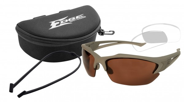 Edge Tactical Acid Gambit Kit Clear/ Polarized Copper
