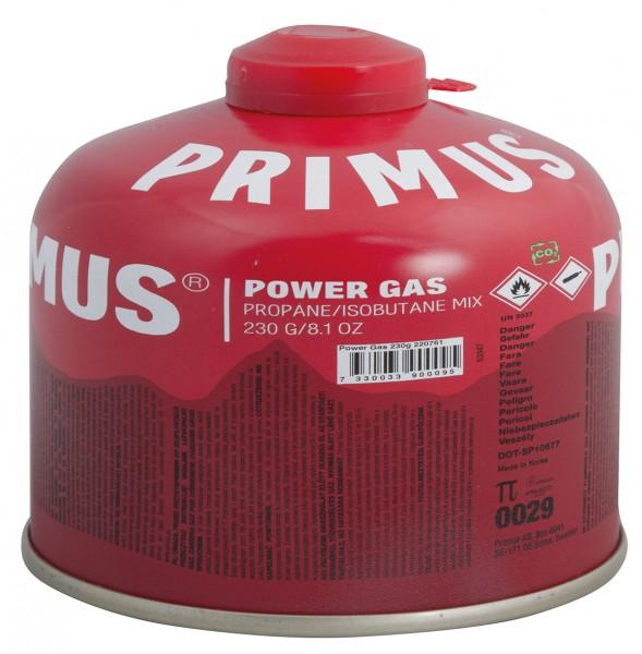 Primus Schraubbare Gaskartusche Power Gas 230 g