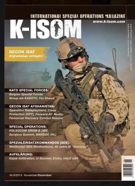 Kommando Magazin K-ISOM Ausgabe: 32 Nr.6/2013