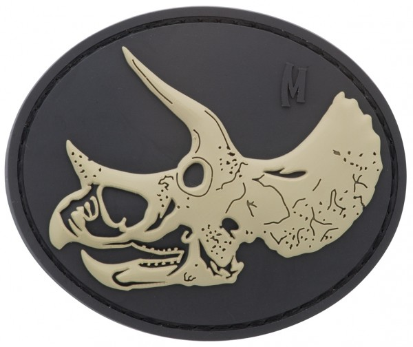 Maxpedition Rubber Patch TRICERATOPS SKULL Swat
