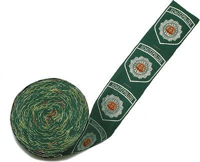 MDI Armabzeichen Textil Schupo Grün