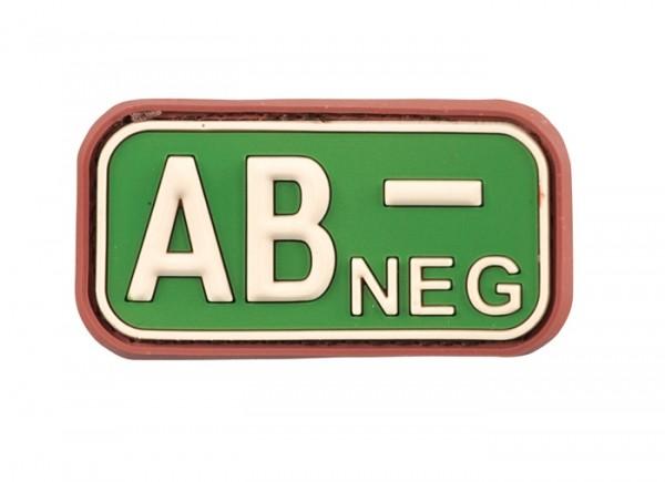 3D Blutgruppenpatch Multicam AB neg -