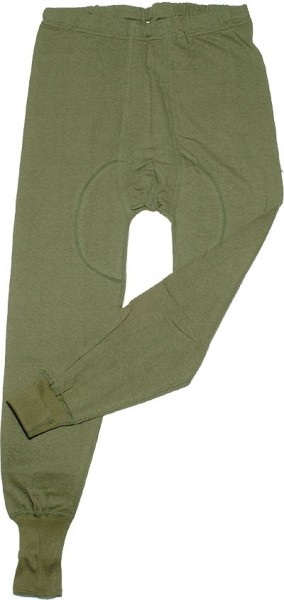 BW Unterhose Lang gebraucht Oliv