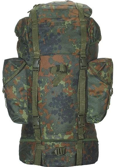 BW Kampfrucksack Flecktarn Import