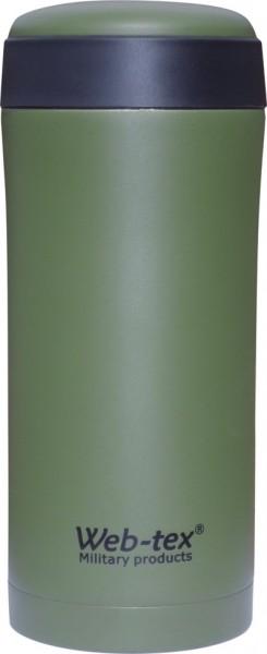 Web-Tex Thermosflasche 330 ml Oliv