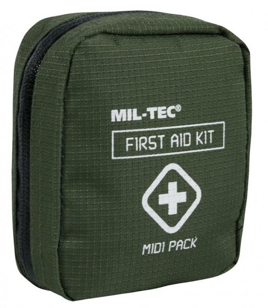 Mil-Tec First Aid Kit Midi Pack Oliv