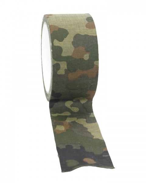 Mil-Tec Textilklebeband Flecktarn 10m